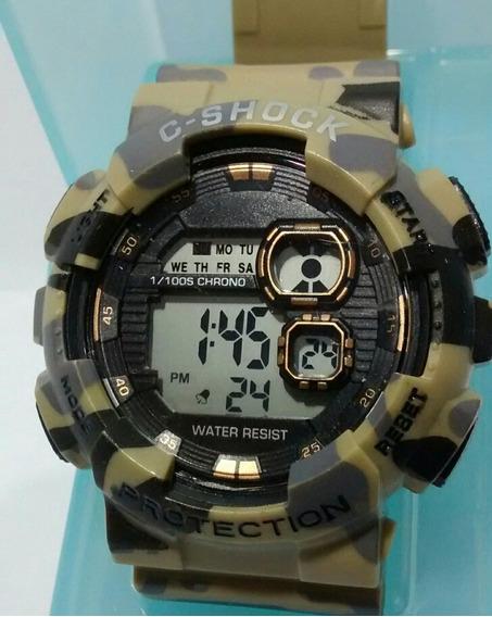 Relógio Militar Camuflado Masculino Exército Barato Promoção