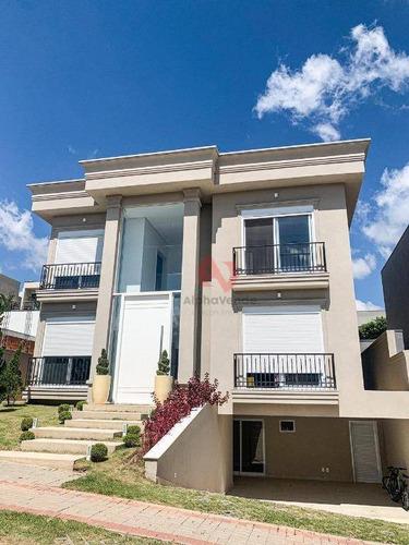 Imagem 1 de 30 de Casa Com 5 Dormitórios À Venda, 460 M² Por R$ 3.800.000,00 - Alphaville - Santana De Parnaíba/sp - Ca6392