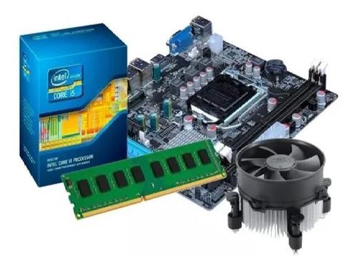 Imagem 1 de 5 de Kit Processador I5 3570 + Placa Mãe H61 + 4gb Ddr3 Promoção