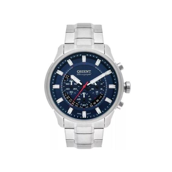 Relógio Orient Masculino Prata Mbssc189 D1sx