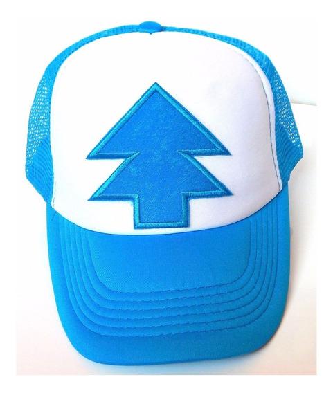 Gorra Trucker Dipper Pines Gravity Falls Pino Envio Gratis!