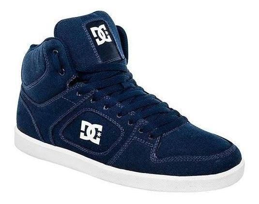 Tenis Dc Shoes Union High Tx Marino