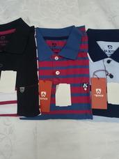 Kit 3 Camisas Polo Masculina Mr Kitsch Tam Gg 7c07175ed29