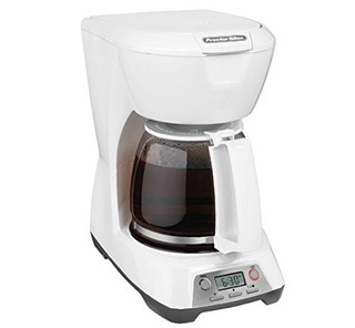 Proctor Silex 12cup Cafetera Programable Blanco 43671
