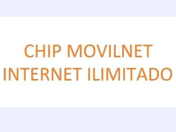 Chip Internet Ilimitado (60 Verds)