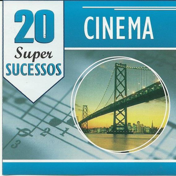 Cd Cinema - 20 Super Sucessos