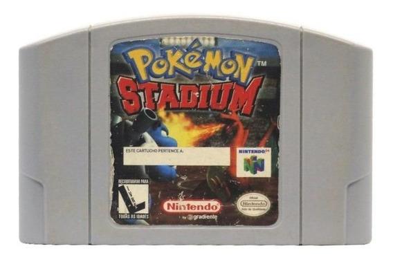Pokémon Stadium Nintendo 64 Físico Usado