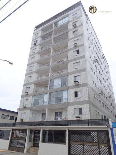 Apartamento Residencial À Venda, Vila Guilhermina, Praia Grande - . - Ap2533