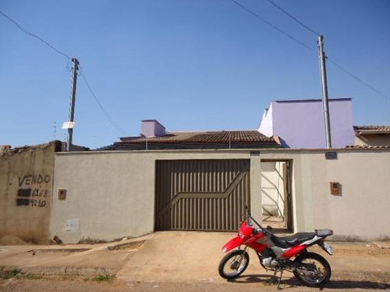 Casa Em Residencial Village Santa Rita Iv, Goiânia/go De 90m² 2 Quartos À Venda Por R$ 170.000,00 - Ca248649