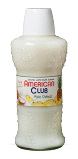 Piña Colada American Club 750ml Coctel Listo Para Tomar