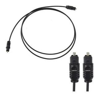Cable Optico Digital Para Audio Fibra Optica Dorada 1 Mts