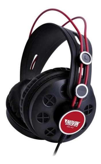Headphone Profissional Novik Hnk 402 - Preto