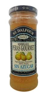 St. Dalfour Mermelada Peras Gourmet Sin Azúcar Frasco 284g