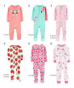 Macacão Pijama Carters Menina Tamanho Do Rn Ate 24 Meses