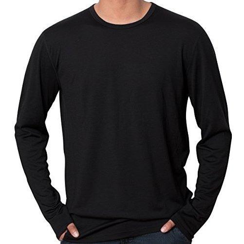 Camiseta De Manga Larga Merino De Cierre Frio, Peso Medio, 2