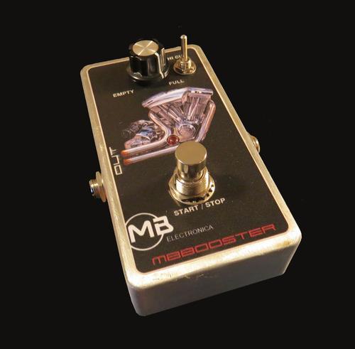 Mbbooster Booster Super Clean 25dbs Para Guitarras O Bajos