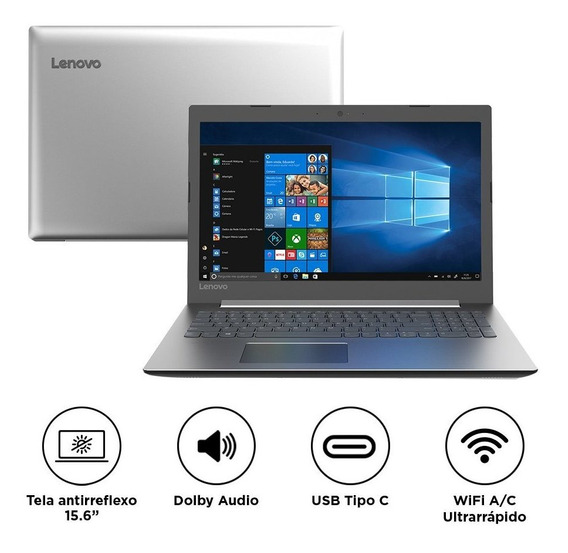 Notebook Lenovo Ideapad 330 Intel Core I3-6006u 4gb 1tb W10