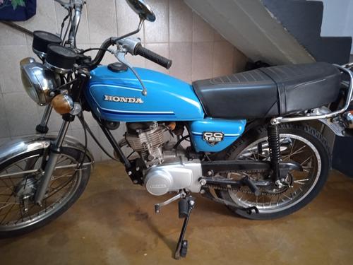 Honda Cg 1981 - Azul - Relíquia