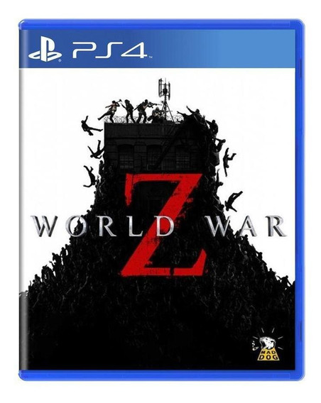 World War Z Ps4 Mídia Física Pronta Entrega