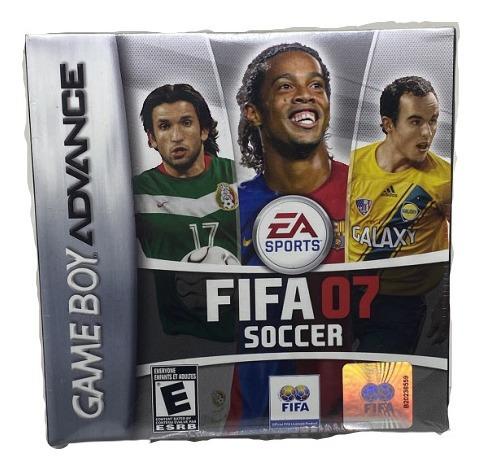 Jogo Fifa 07 - Gameboy Advance Lacrado