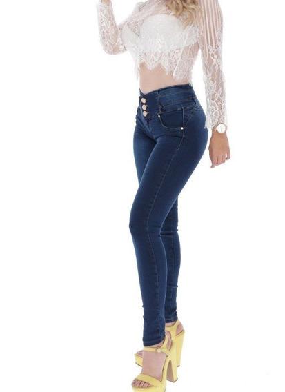Pantalones Colombianos Jeans Dama Mezclilla Mujer Moda 35 /j