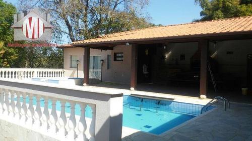 Linda Chácara Com 02 Dormitórios, Piscina, Espaço Gourmet, Excelente Localização À Venda, 1700 M² Por R$ 400.000 - Ch0228