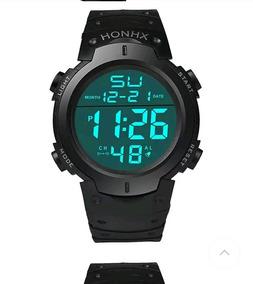 Relógio Digital Honhx Masculino,lindo Relógio Esport+ Brinde