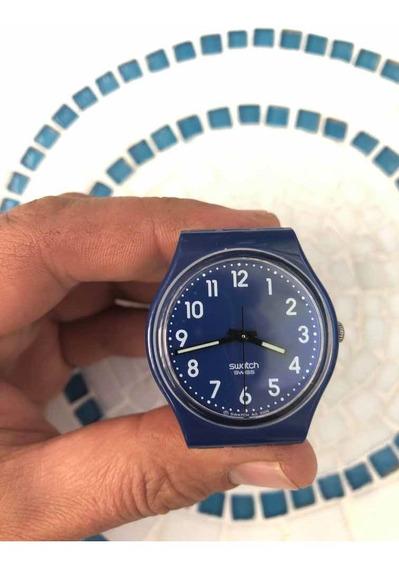 Relogio Swatch Azul Sem Pulseira