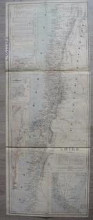 Mapa Chile Pre-guerra Pacifico Antofagasta Aysen