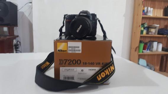 Nikon D7200 Kit + 50mm + Kit Fotográfico.