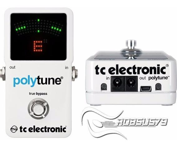 Pedal Tc Electronic Polytune 2 C/ Nf-e Garantia