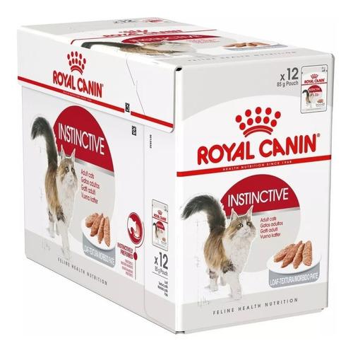 Imagen 1 de 1 de Pouch Royal Canin Gato Instinctive Caja X 12u Vet Juncal