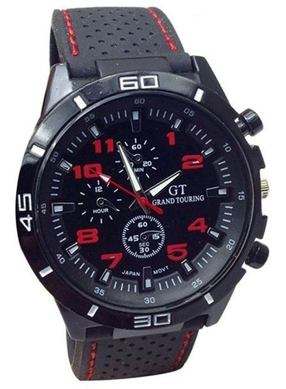 Relógio Masculino Barato Preto - Relógio Barato Para Homem
