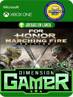 For Honor Marching Fire E Xbox One Modo Local + En Linea