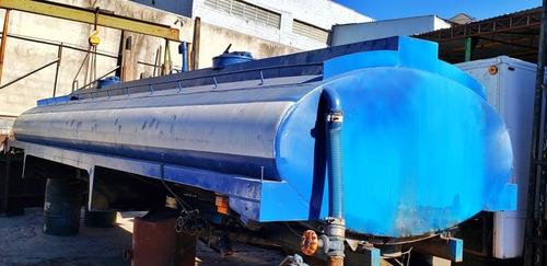Tanque Pipa 15000l Agua Truck 7,30m