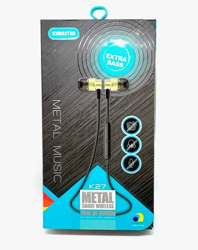 Imagem 1 de 4 de Fone De Ouvido Esportivo Bluetooth Kaidi Kd901