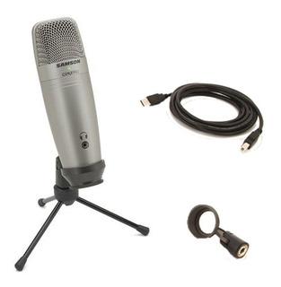 Microfono Samson Pro Condenser C01u Usb + Pipeta + Tripode