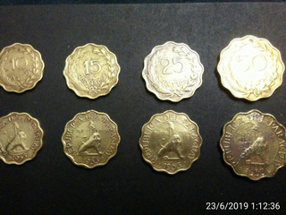 Juego De Monedas Paraguay