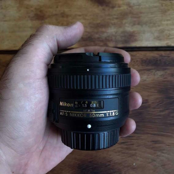 Lente Nikon Nikkor Af-s 50mm F1.8 G