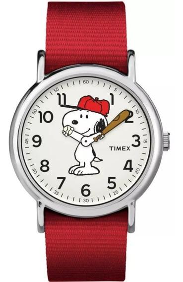 Reloj Snoopy 100% Original Nuevo Con Caja