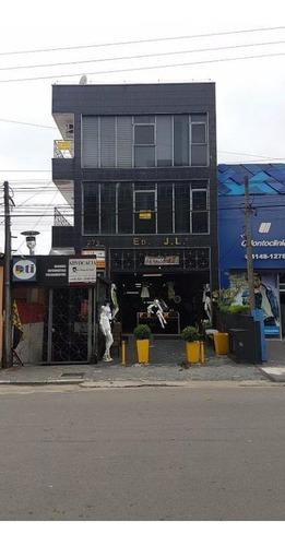 Salão Para Alugar, 163 M² Por R$ 4.500,00/mês - Centro - Cotia/sp - Sl0078