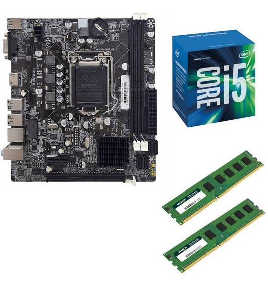 Kit Upgrade Cpu Intel I5 + Placa Mãe H55 + Ddr3 8gb + Nf