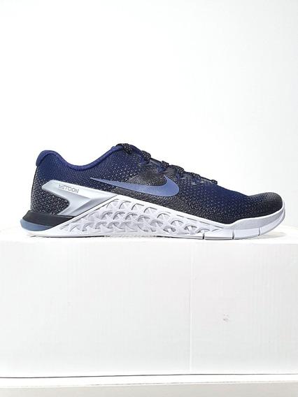 Tênis Nike Metcon 4 Azul Metallic Feminino Original N. 37 (7.5 Usa)