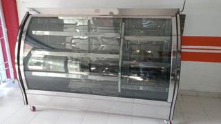 Vitrina Refrigerada Vidrio Curvo