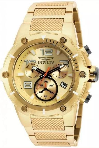 Relógio Masculino Invicta 19529 Cronografo 51mm Original