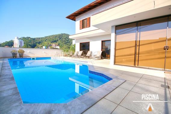 Acrc Imóveis - Casa À Venda No Bairro Itoupava Seca, Com 04 Dormitórios E Piscina - Ca00669 - 32757982