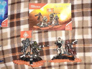 Fireteam Osiris Halo Mega Construx Seminuevo Completo