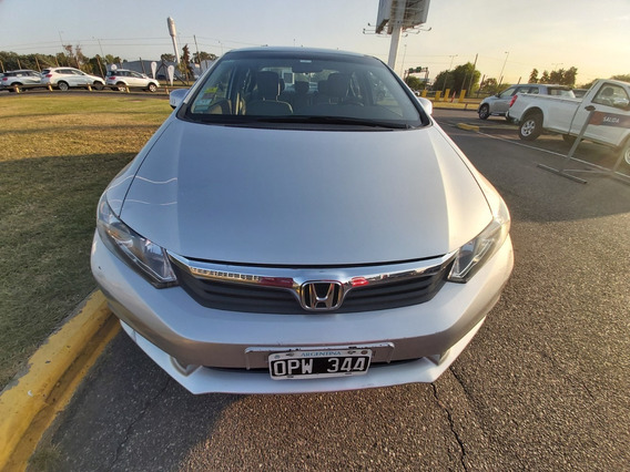 Honda Civic 1.8 Lxs Mt C/ 35000 Kms 2015 - Car One - Ez -