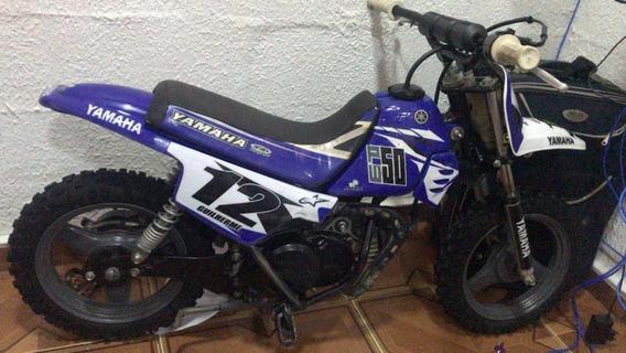 Trilha E Motocross - Pw Yamaha 50cc - Òtimo Estado
