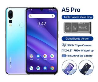 Smartphone Umidigi A5 Pro 6,3 (4gb/32gb) Azul - P. Entrega